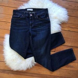 Madewell Dark Wash Skinny Skinny Mid Rise Jeans
